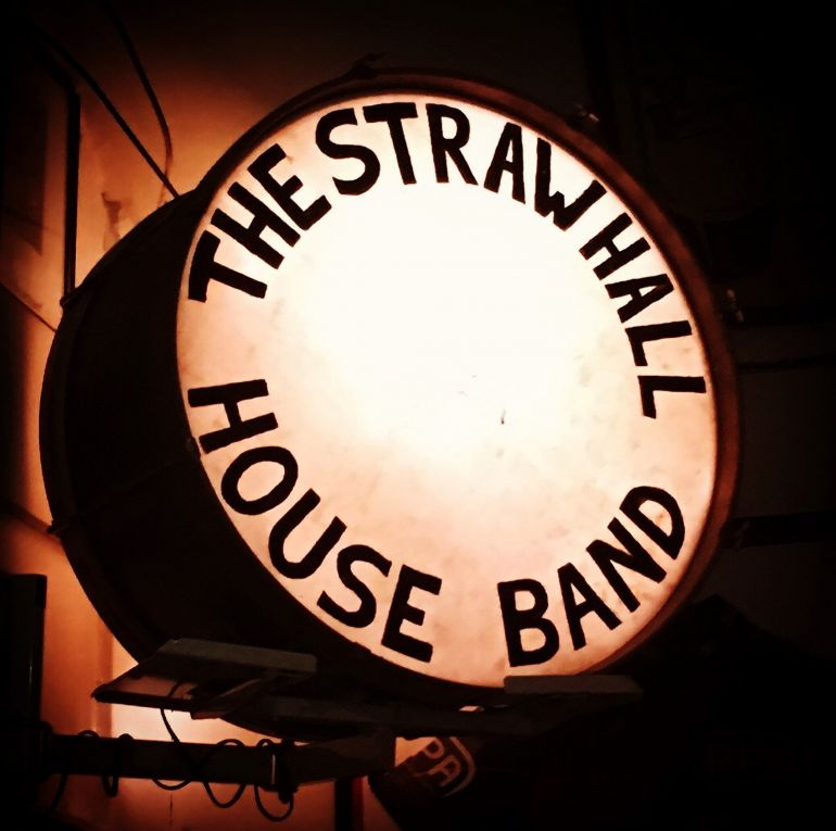 THE STRAWHALL HOUSE BAND