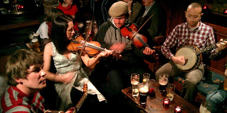 The Céilí All-Stars   De Barra\'s Folk Club - Clonakilty